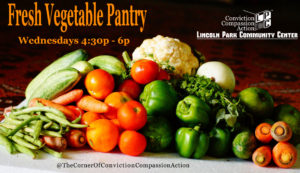 Weekly Fresh Vegetable Pantry @ Lincoln Park Community Center