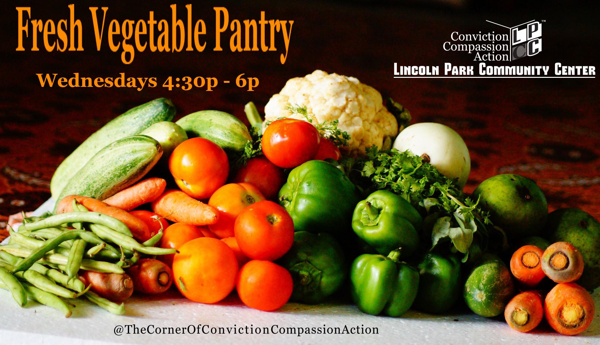 Weekly Fresh Vegetable Pantry
