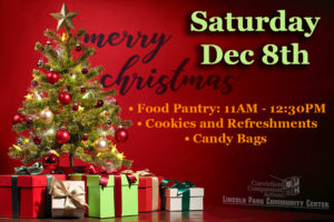Dec 8th Christmas @ Lincoln Park Community Center